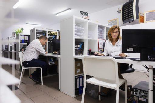 Dział Handlowy ROLETIX Salon Sprzedaży Producenta rolet, żaluzji aluminiowych, żaluzji drewnianych, plis, moskitier, markiz - 17