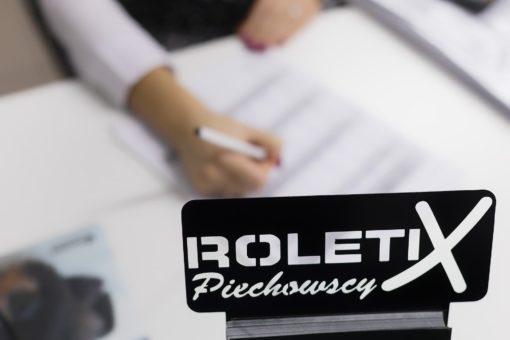 Dział Handlowy ROLETIX Salon Sprzedaży Producenta rolet, żaluzji aluminiowych, żaluzji drewnianych, plis, moskitier, markiz - 19
