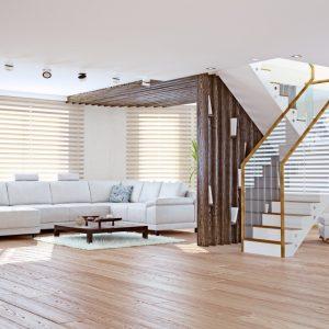 ŻALUZJE DREWNIANE I BAMBUSOWE Producent żaluzji drewnianych i bambusowych 25mm 50mm 65mm 70mm, Żaluzje drewniane elektryczne, żalzuje drewniane białe 11