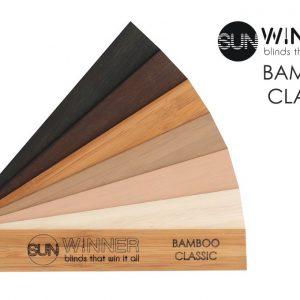 ŻALUZJE DREWNIANE I BAMBUSOWE Producent żaluzji drewnianych i bambusowych 25mm 50mm 65mm 70mm, Żaluzje drewniane elektryczne Bamboo Classic 25mm 52