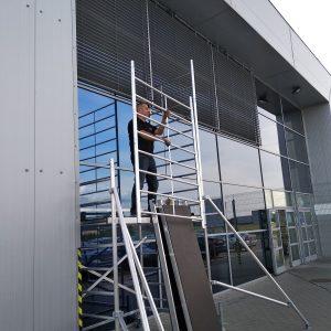 ŻALUZJE FASADOWE Producent żaluzji fasadowych zewnętrznych, żaluzje zewnętrzne aluminiowe stalowe, żaluzje fasadowe typ C, Z, S, fasadówki 45
