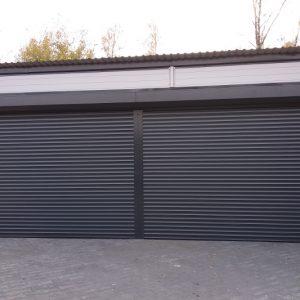 BRAMY ROLOWANE Producent bram rolowanych, bramy rolowane zwijane PA-77, PA-55, PA-52, Brama rolowana garażowa, Bramy aluminiowe ocieplane 1