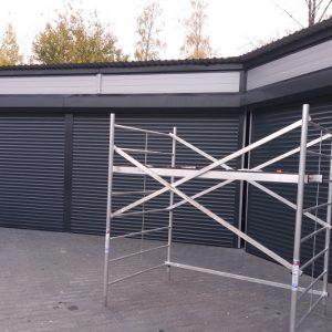 BRAMY ROLOWANE Producent bram rolowanych, bramy rolowane zwijane PA-77, PA-55, PA-52, Brama rolowana garażowa, Bramy aluminiowe ocieplane 4