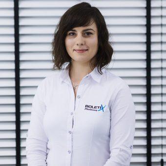 Marta Kurpiewska ROLETIX Specjalista ds. wycen i zamówień w salonie sprzedaży Ostrołęka. Rolety, żaluzje - 1