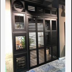 OKIENNICE SHUTTERS Okiennice wewętrzne, okiennice shutters drewniane, shutters PCV, shutters faux wood, okiennice ruchome lamele przesuwne - 12