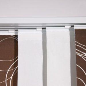 PANEL TRACK ROLETIX Producent zasłon panelowych, panel tracków, rolety panelowe, żaluzje panelowe, panele pionowe materiałowe, panele na szynie -5