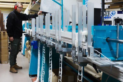 ROLETIX Automat ze składarką do produkcji żaluzji drewnianych, bambusowych i faux. Produkcja żaluzji, rolet, moskitier - 4