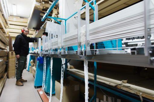 ROLETIX Automat ze składarką do produkcji żaluzji drewnianych, bambusowych i faux. Produkcja żaluzji, rolet, moskitier - 5