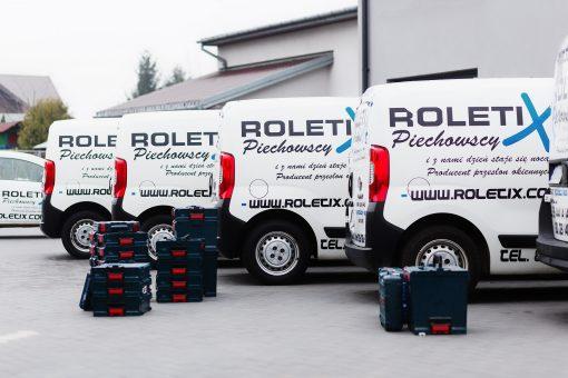 ROLETIX Flota Samochodowa. Własny transport rolet, żaluzji, moskitier, plis, wertikali, markiz, pergoli, żaluzji drewnianych - 4