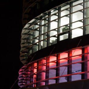 SUNBREAKER ŁAMACZE ŚWIATŁA Żaluzje zewnętrzne aluminiowe, łamacze światła. Producent sunbreaker łamaczy światła. Żaluzje biurowe fasadowe 1